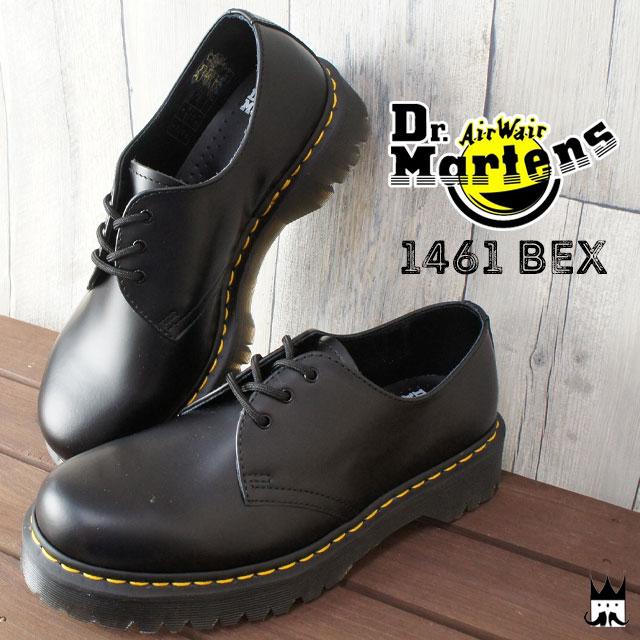 Dr.Martens ドクターマーチン 送料無料 ブーツ メンズ レディース 21084001 CORE 1461 BEX 3 EYELET SHOE オックスフォード マニッシュシューズ レースアップ おじ靴 カジュアルシューズ evid