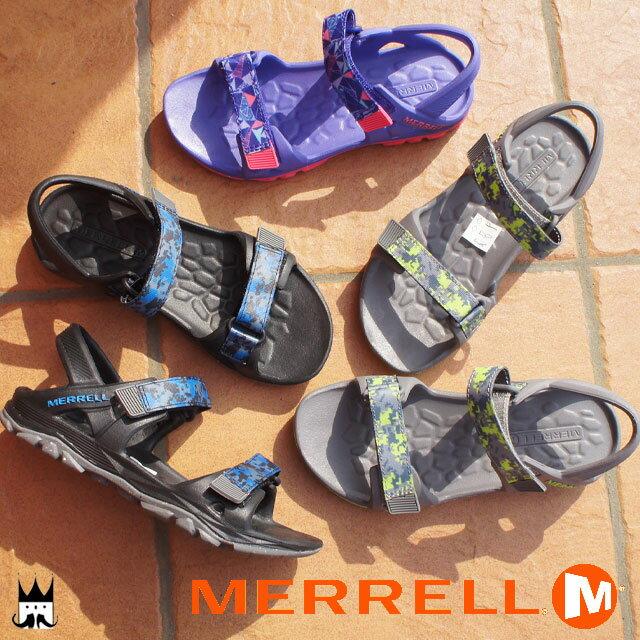 メレル MERRELL 男の子 女の子 子供靴 キッズ ジュニア サンダル ML-B/ML-G ハイドロ ドリフト HYDRO DRIFT ベルクロ アウトドア カジュアル スポーツサンダル スポサン 夏 レジャー 水辺 ボーイズ ガールズ MC56899 MC56493 MC56495 evid