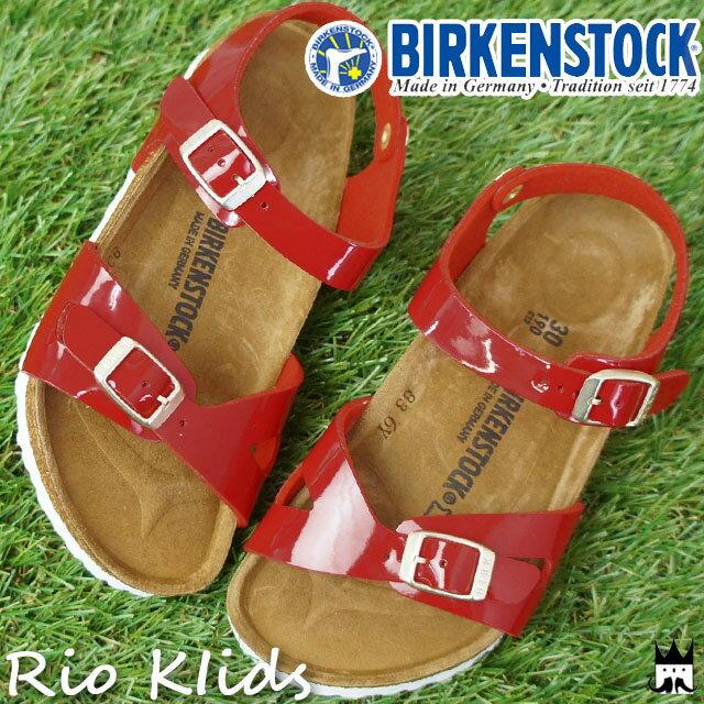 【送料無料】(一部地域除く)ビルケンシュトック BIRKENSTOCK キッズ ジュニア コンフォートサンダル リオキッズ 1005888 女の子 子供靴 evid