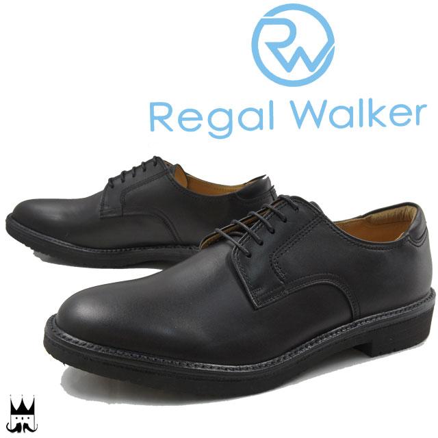 リーガルウォーカーREGAL WALKER 送料無料 ビジネスシューズ メンズ 101W 3E 大きいサイズ 紳士靴 フレッシャーズ リクルート ブラック evid