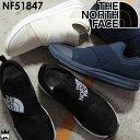 ザ・ノースフェイス トラバース ロー 3 メンズ スリッポン NF51847 Traverse Low 3 リラックスシューズ アウトドア ブラック×ホワイト…