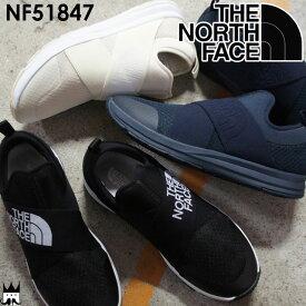 ザ・ノースフェイス トラバース ロー 3 メンズ スリッポン NF51847 Traverse Low 3 リラックスシューズ アウトドア ブラック×ホワイト ネイビー ホワイト THE NORTH FACE evid