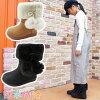 キッズジュニア女の子防水ムートンブーツBCK018ブラックベージュウィンターブーツショートブーツ防寒防滑