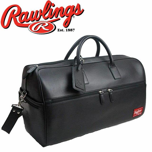 【送料無料】(一部地域除く)ローリングス Rawlings メンズ バッグ HOHDUFBL LEATHER GOODS ダッフルバッグ カジュアル ビジネスマン ベースボール evid