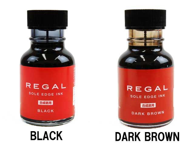 リーガル コバインキ TY25(合成底用) 70ml REGAL SOLE EDGE INK アフターケア シューケアケア用品 ビジネス パンプス コバインク キズ カバー BLACK・DARK BROWN
