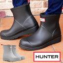 ハンター レインブーツ レディース 【送料無料】(一部地域除く) WFS2020RMA オリジナル プレイ ブーツ ショート 防水 長靴 ブラック …