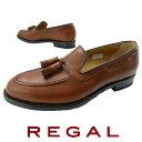 【送料無料】REGAL リーガル タッセル スリッポン メンズ 靴 紳士靴 ドライビングシューズ ビジネスシューズ ビジカジ 撥水 日本製 メ…