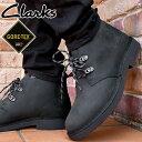 クラークス メンズ デザートブーツ2 ゴアテックス 防水 GORE-TEX ハイカット カジュアルシューズ ショートブーツ 本革 靴 26162172 ブ…