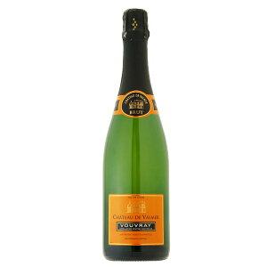 【あす楽】シャトー・ド・ヴァルメール ヴーヴレ・ブリュット 750ml 瓶内二次発酵 シャンパン方式 フルーティ クリーミー エレガント 手作業ルミアージュ AOC フランス ロワール コルクキャ