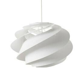 【新入荷】【正規販売店】【送料無料】LE KLINT SWIRL 1 WHITE KP1311M スワル ホワイト 直径45cm 高さ33cm 重さ0.8kg 全長172.5cm E26 100W相当 クリント 照明 北欧 ハンドクラフト デザイン デザイナーズ家具 暖かい光 優しい影