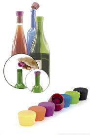 プルテックス シリコン ワインストッパー 2個入り ワインセーバー かぶせるだけ 酸化防止 スペイン ワインツールス オリジナル デザイン 軽量 タフ 機能性 シンプル プロの道具 特許出願中 独自技術 ボトルを冷蔵庫に収納しやすい