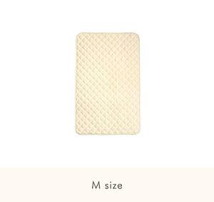 ファルスカ コンパクトベッド 敷きパッド M 洗い替え 洗濯可能 グランドールインターナショナル 吸汗性抜群 ベビーに優しい 肌触り タオル地 快適な眠りをサポート Q-TEC基準合格 検品検針済