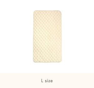 ファルスカ コンパクトベッド 敷きパッド L 洗い替え 洗濯可能 グランドールインターナショナル 吸汗性抜群 ベビーに優しい 肌触り タオル地 快適な眠りをサポート Q-TEC基準合格 検品検針済