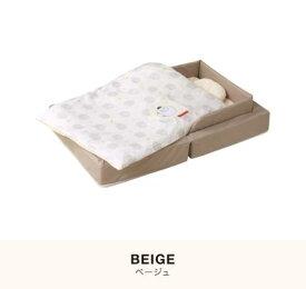 ファルスカ コンパクトベッド フィット ベージュ 8点セット 快適 便利 ベーシック 洗濯可能 おしゃれ ママ達の声 改良 マンション住まい ベビー寝具 リビング移動 持ち運び ポータブル 里帰り おでかけ Q-TEC基準 検品検針済み
