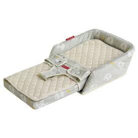 【送料無料】【人気商品】ファルスカ ベッドインベッド フレックス エレファント&バナナ コットンタイプ 洗濯可能 ねんね おすわり チェアベルト 成長に合わせて長く使える 添い寝サポート お座りサポート Q-TEC基準合格 検品検針済み