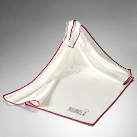 リーデル マイクロファイバー RIEDEL クリスタル専用 お手入れクロス けば立ちなし スムーズに汚れを取り除く 速乾性 大判サイズ プロ仕様 コスパ最高 グラス用クロス スルスル 吸水性