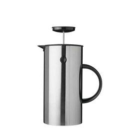 Stelton EM フレンチプレス 1L ステンレス インスパイア プレス式コーヒーメーカー 淹れたてコーヒー コク 豊かな香り 2層構造 取り外し可能 洗いやすい 清潔 カラフル キッチン ダイニング デザイン 北欧 エリック・マグヌッセン デンマーク ステルトン
