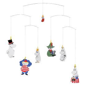 【ポイント5倍設定中!】Flensted Mobiles フレンステッド・モビール Moomin ムーミン 動く彫刻 アート デンマーク 北欧 雑貨 インテリア 知育玩具 リラックス ギフト 出産祝
