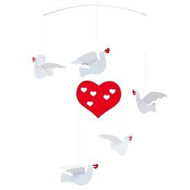 Flensted Mobiles フレンステッド・モビール Peace and Love ピース&ラブ 動く彫刻 アート デンマーク 北欧 雑貨 インテリア 知育玩具 リラックス ギフト 出産祝