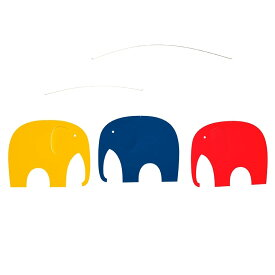 Flensted Mobiles フレンステッド・モビール Elephant Party エレファントパーティ 動く彫刻 アート デンマーク 北欧 雑貨 インテリア 知育玩具 リラックス ギフト 出産祝