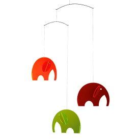 Flensted Mobiles フレンステッド・モビール Olephants オレファンツ プレキシガラス 動く彫刻 アート デンマーク 北欧 雑貨 インテリア 知育玩具 リラックス ギフト 出産祝