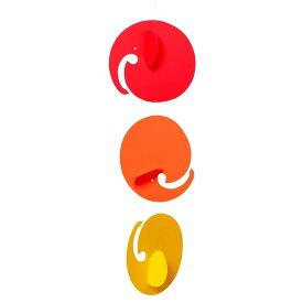 Flensted Mobiles フレンステッド・モビール Roll ephants ロール エレファンツ 動く彫刻 アート デンマーク 北欧 雑貨 インテリア 知育玩具 リラックス ギフト 出産祝