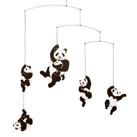 Flensted Mobiles フレンステッド・モビール Panda Mobile パンダモビール 動く彫刻 アート デンマーク 北欧 雑貨 インテリア 知育玩具 リラックス ギフト 出産祝