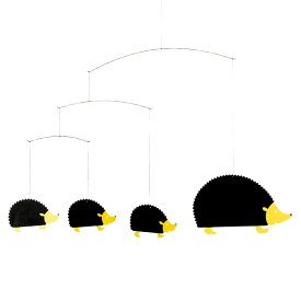 Flensted Mobiles フレンステッド・モビール Hedgehog Family ヘッジホッグファミリー 動く彫刻 アート デンマーク 北欧 雑貨 インテリア 知育玩具 リラックス ギフト 出産祝