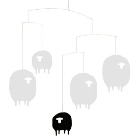 Flensted Mobiles フレンステッド・モビール Sheep Mobile シープモビール 動く彫刻 アート デンマーク 北欧 雑貨 インテリア 知育玩具 リラックス ギフト 出産祝