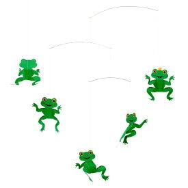 Flensted Mobiles フレンステッド・モビール Happy Frog ハッピーフロッグ 動く彫刻 アート デンマーク 北欧 雑貨 インテリア 知育玩具 リラックス ギフト 出産祝