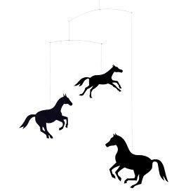 Flensted Mobiles フレンステッド・モビール Horse Mobile ホースモビール 動く彫刻 アート デンマーク 北欧 雑貨 インテリア 知育玩具 リラックス ギフト 出産祝