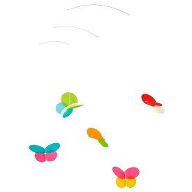 Flensted Mobiles フレンステッド・モビール Butterfies バタフライ 動く彫刻 アート デンマーク 北欧 雑貨 インテリア 知育玩具 リラックス ギフト 出産祝