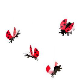 Flensted Mobiles フレンステッド・モビール Lady Bird レディバード 動く彫刻 アート デンマーク 北欧 雑貨 インテリア 知育玩具 リラックス ギフト 出産祝