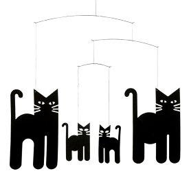 Flensted Mobiles フレンステッド・モビール Cats Mobile キャッツモビール 動く彫刻 アート デンマーク 北欧 雑貨 インテリア 知育玩具 リラックス ギフト 出産祝