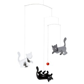 Flensted Mobiles フレンステッド・モビール Kitty Cats キティキャッツ 動く彫刻 アート デンマーク 北欧 雑貨 インテリア 知育玩具 リラックス ギフト 出産祝