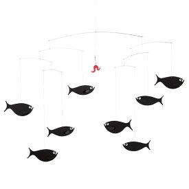 Flensted Mobiles フレンステッド・モビール Shoal of Fish ショールオブフィッシュ 動く彫刻 アート デンマーク 北欧 雑貨 インテリア 知育玩具 リラックス ギフト 出産祝