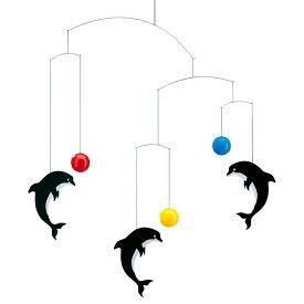 Flensted Mobiles フレンステッド・モビール Delphinarium デルフィナリウム 動く彫刻 アート デンマーク 北欧 雑貨 インテリア 知育玩具 リラックス ギフト 出産祝