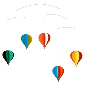 Flensted Mobiles フレンステッド・モビール Balloon Mobile バルーンモビール5 動く彫刻 アート デンマーク 北欧 雑貨 インテリア 知育玩具 リラックス ギフト 出産祝