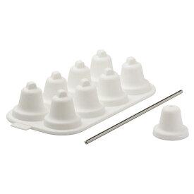 Ice bell ホワイト マドラーセット Timbre Ice Tray 氷のベル 製氷トレイ かわいい おしゃれ ギフト