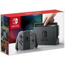 【ゆうパック送料無料】【新品】ニンテンドー スイッチ Nintendo Switch グレー 本体 ※定価以上での販売となります。