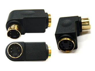 S-视频上转换-直角适配器 (SV L) P06Dec14 l