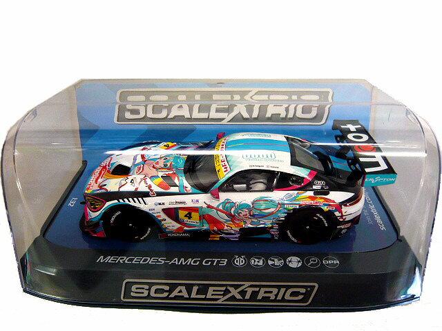 ScalextricC3852 Mercedes AMG GT3 Goodsmile Racing グッドスマイルレーシング 初音ミク 1/32スロットカー スケーレックストリック