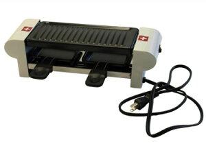 3特典【送料無料+お米+ポイント】 ラクレット デュオ スイス Raclette Duo swiss ラクレットチーズ用小型電熱調理器具 ラクレットグリル ラクレットデュオスイス ラクレットオーブン