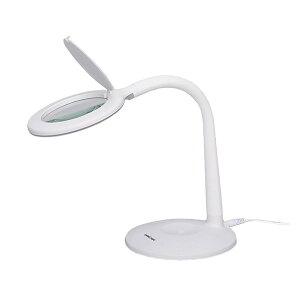 《クーポン配布中》 LEDルミルーペ ライト付きスタンドルーペ スタンド式拡大ルーペー スタンドルーペ ルーペ付きライトスタンド LEDライトスタンド LED拡大ルーペ