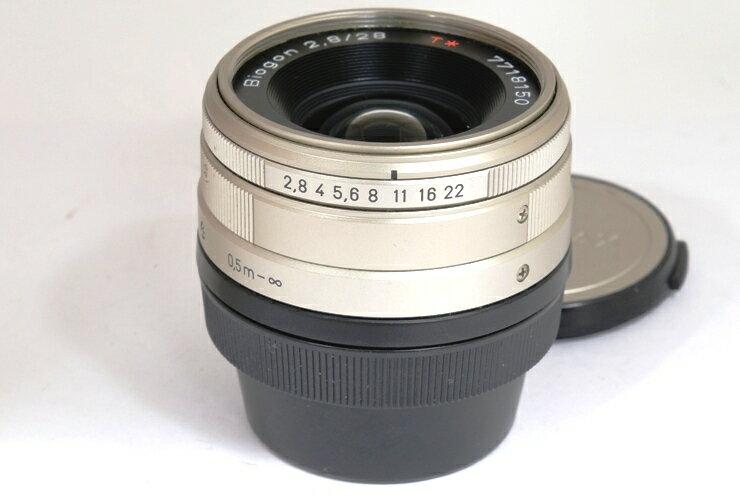 CONTAX/コンタックスG用 ビオゴン 28mm F2.8【中古】【smtb-TD】【がんばろう!宮城】