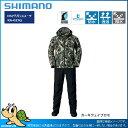 【17新作】シマノ 17 RA-025Q DSアドバンススーツ カーキウェイブカモ:L(26000)