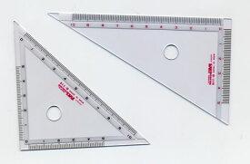 12cm三角定規[イカリボシパルカラー定規](PT-4)
