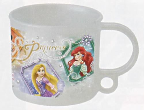ディズニープリンセス[DisneyPrincess]食洗器対応プラコップ(プラカップ)(KE5A(361203))