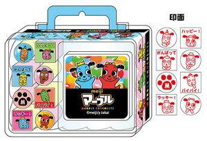 マーブルサカモトおもしろ文具(パロディ文具)おやつマーケットバッグ型スタンプ(はんこ遊び)(40224001)