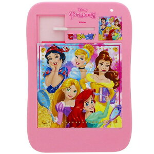 ディズニープリンセス[DisneyPrincess]できるんです!(お出掛けに最適な「バラバラにならない9ピーススライドパズル」)(5222429A)